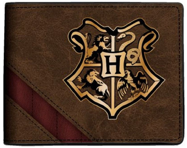 Harry Potter Bifold Wallet - Hogwarts Crest