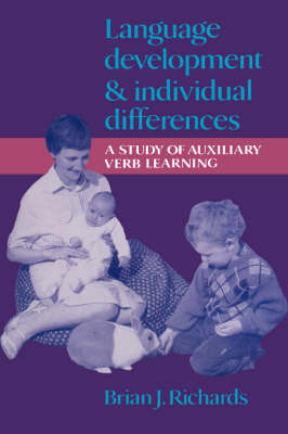 Language Development and Individual Differences by Brian J. Richards image
