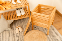 Fraser Country Storage Cube Stool