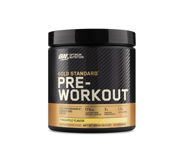 Optimum Nutrition Gold Standard Pre-Workout - Pineapple (300g/30 Servings)