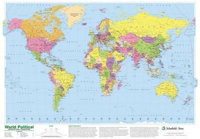 World Political Map image