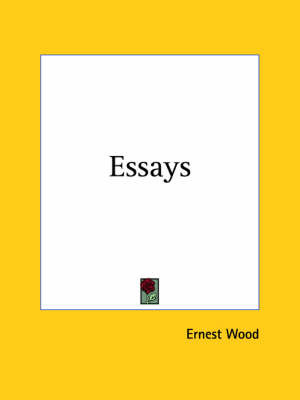 Essays (1909) by Ernest Wood image