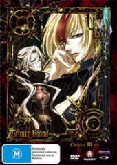 Trinity Blood - Chapter 3 on DVD