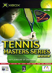 Tennis Masters Series 2003 for Xbox