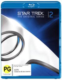 Star Trek The Original Series - The Complete Second Season Remastered on Blu-ray image