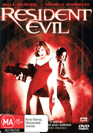 Resident Evil on DVD image