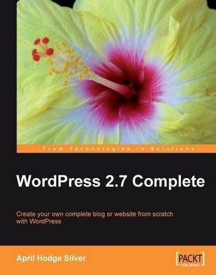 WordPress 2.7 Complete by April Hodge Silver image