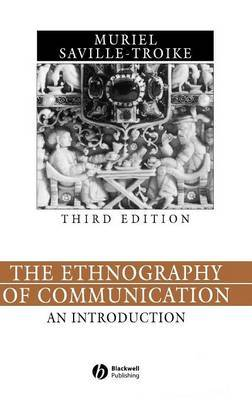 The Ethnography of Communication by Muriel Saville-Troike image