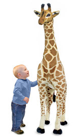 Melissa & Doug: Giant Stuffed Animal Giraffe