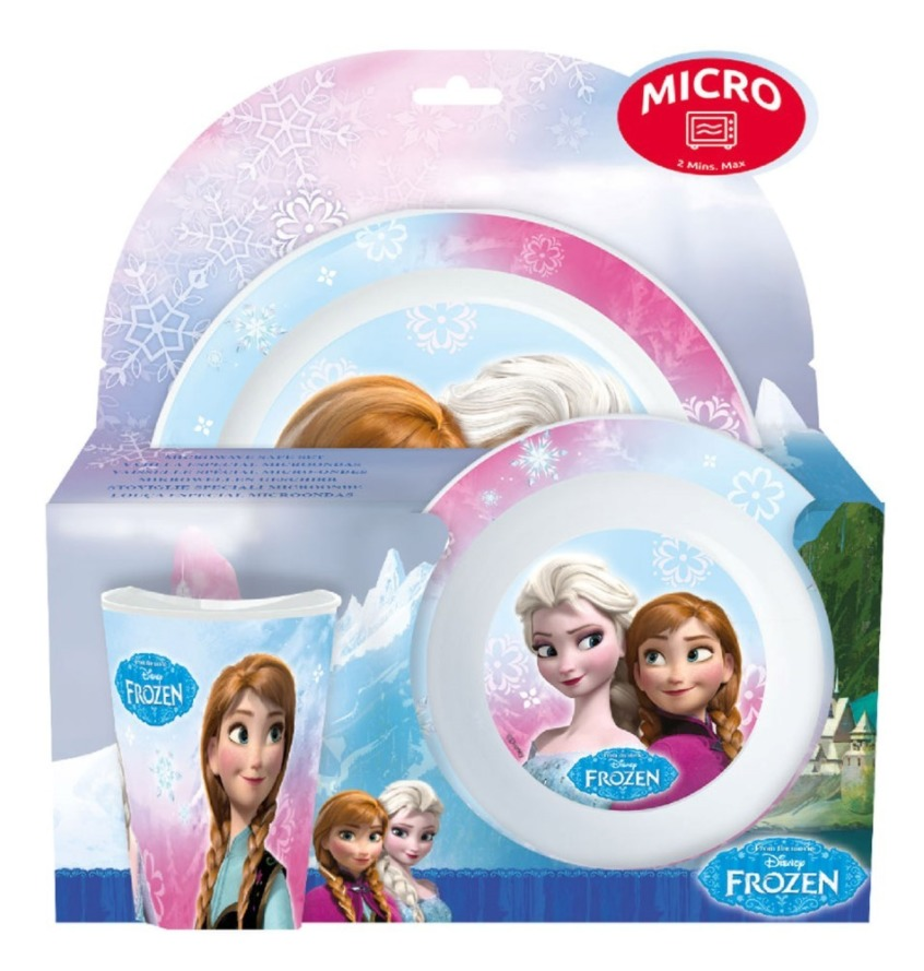 Disney Frozen Microwave Set (3pc) image