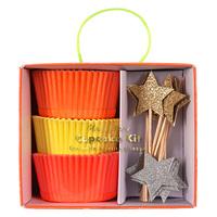 Cupcake Kit Neon & Star