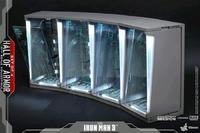 Iron Man 3 Hall of Armor Diorama - 4-Pack