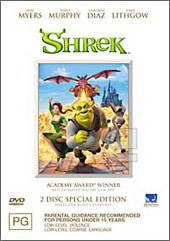 Shrek - Special Edition on DVD
