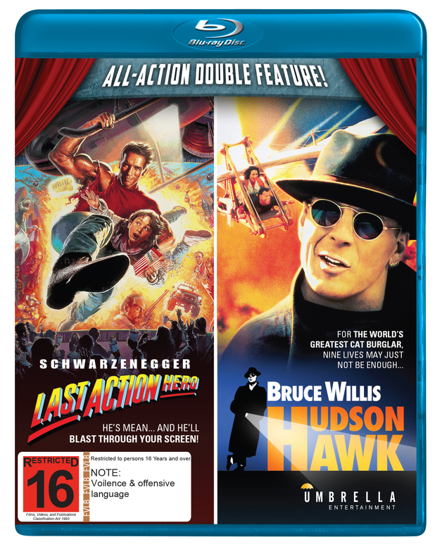 Last Action Hero/Hudson Hawk on Blu-ray