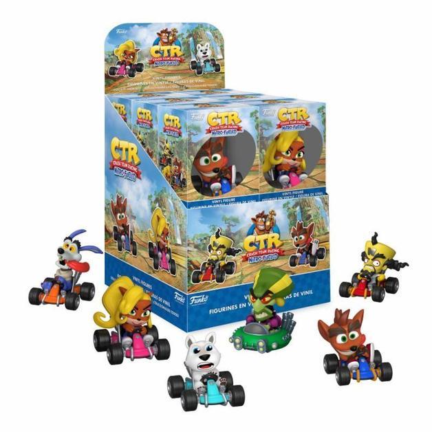 Crash Bandicoot: Crash Team Racing - Mystery Minis Figure - (Assorted)