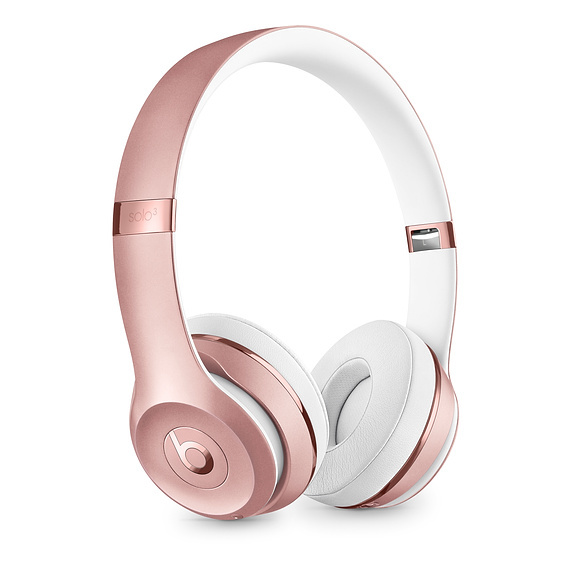 Beats: Solo3 Wireless Headphones - Rose Gold