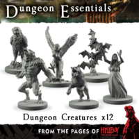Dungeon Essentials: From The Pages Of Hellboy - Dungeon Creatures image