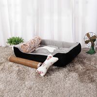 Ape Basics: Four Seasons Pet Bed - Grey (Medium)