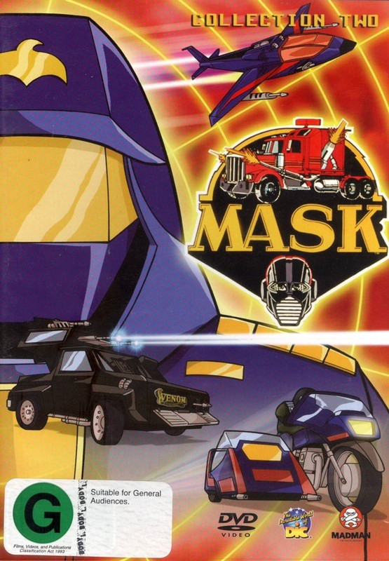 M.A.S.K. Collection 2 on DVD
