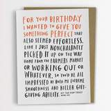 Emily McDowell - Awkward Birthday Card