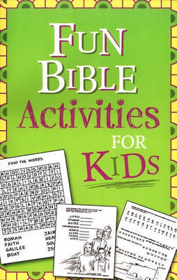 Fun Bible Activities for Kids by Ken Save