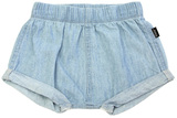 Bonds Chambray Shorts - Summer Blue (6-12 Months)