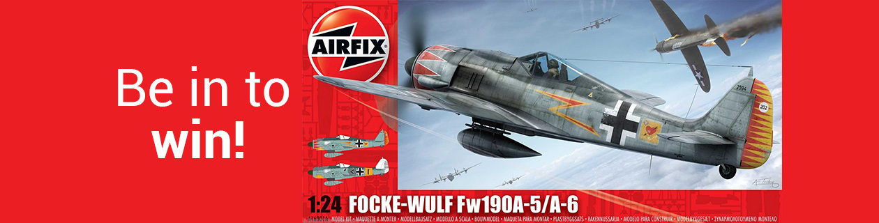 Be in to win with Airfix this March!