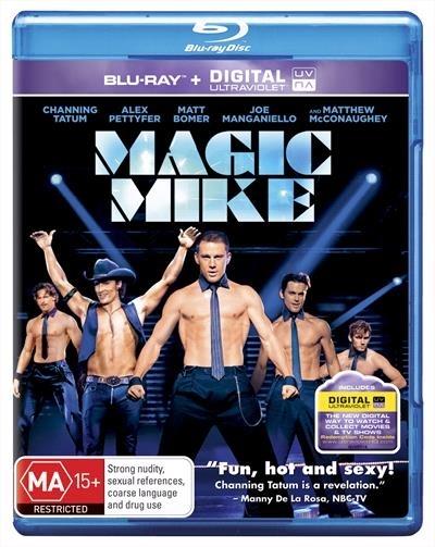 Magic Mike on Blu-ray, UV