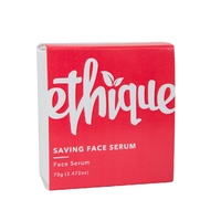 Ethique Saving Face Serum Bar for Normal to Dry Skin (70g)
