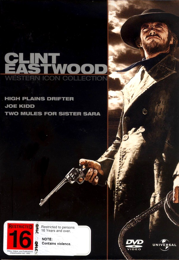 Clint Eastwood Collection (3 Disc Box Set) (Universal Pictures) on DVD image