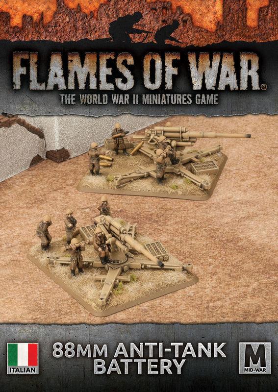 Flames of War: 88mm Anti-Tank Battery
