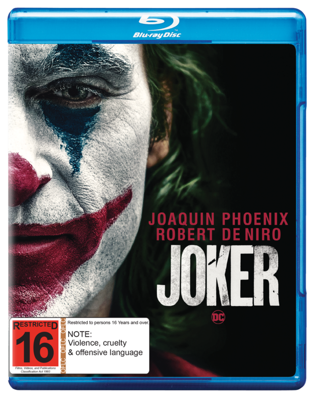 Joker on Blu-ray