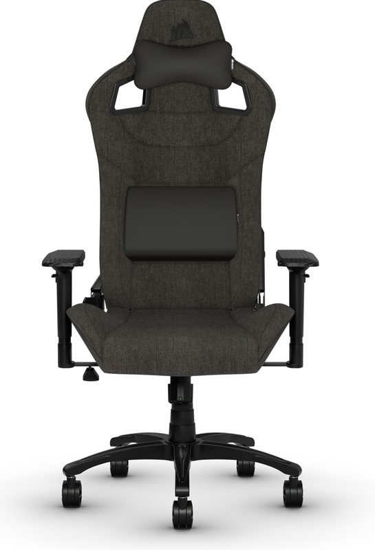 Corsair T3 RUSH Fabric Gaming Chair - Charcoal for