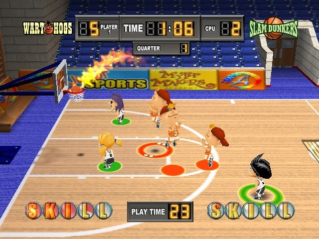 Kidz Sports Basketball for Wii image