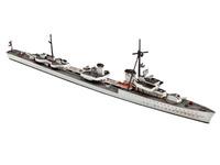 Revell - 1:700 German Destroyer Z-38 Narvik Klasse Model Kit