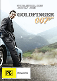 Goldfinger (2012 Version) on DVD