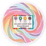Dylan's Candy Bar Notepad - Lollipop