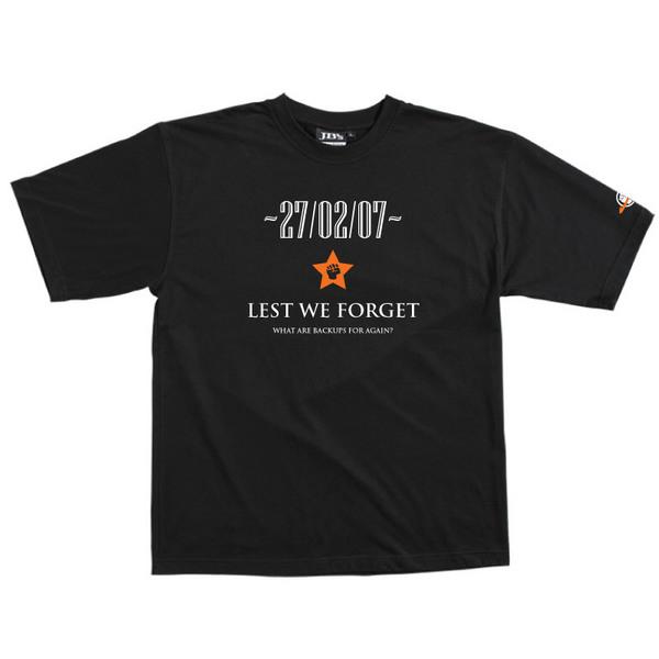Lest We Forget - Tshirt (Black) for  image