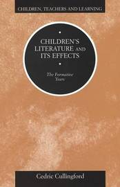 Children's Literature and Its Effects by Cedric Cullingford image
