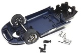Scalextric: Underpan Ford GT40 Blue - Slot Car Accessory