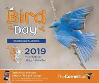 Bird-A-Day 2019 Daily Calendar: Western North America