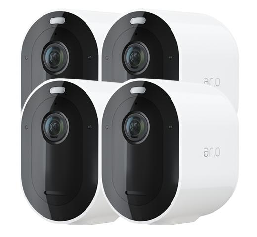 Arlo: Pro 3 - Wire-Free Security Camera System (4 Camera Kit)
