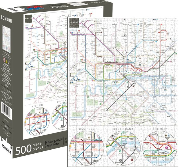 London Underground 500pc Puzzle