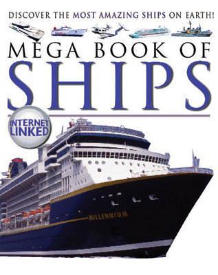 Mega Book of Ships by Lynne Gibbs image