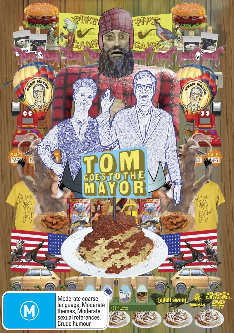 Tom Goes to the Mayor Collection on DVD image