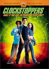 Clockstoppers on DVD