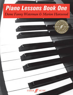 Piano Lessons: Book 1 by Fanny Waterman image