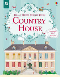Doll's House Sticker Book Country House by Megan Cullis