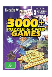 Eureka 3000+ Puzzle & Card Game for PC Games