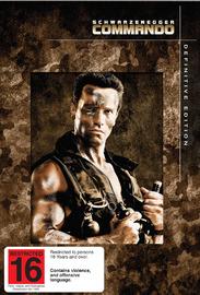 Commando - Definitive Edition (2 Disc Set) on DVD